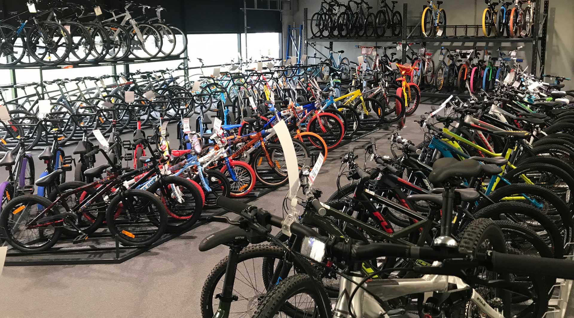 Huge Bicycle Showroom