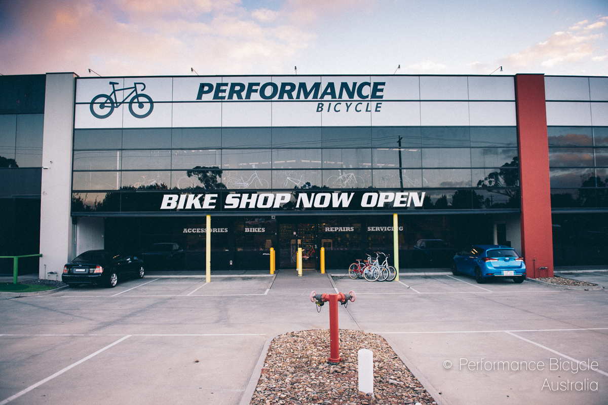 Image of our bicycle Store Front