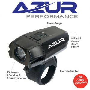Azur 400 Lumen Bicycle headlight